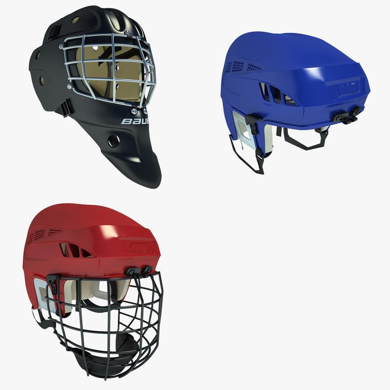 Ice Hockey Helmets 01