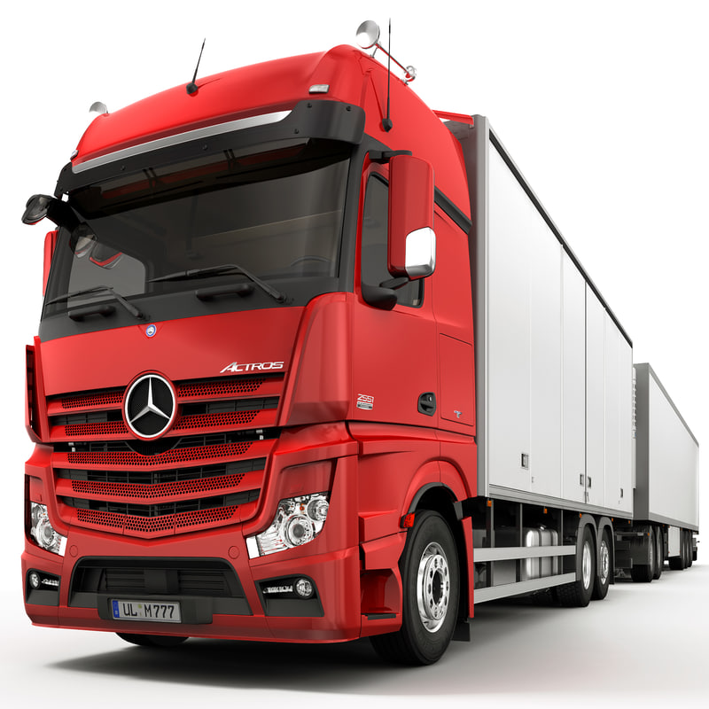 Mercedes Actros Articulated Lorry