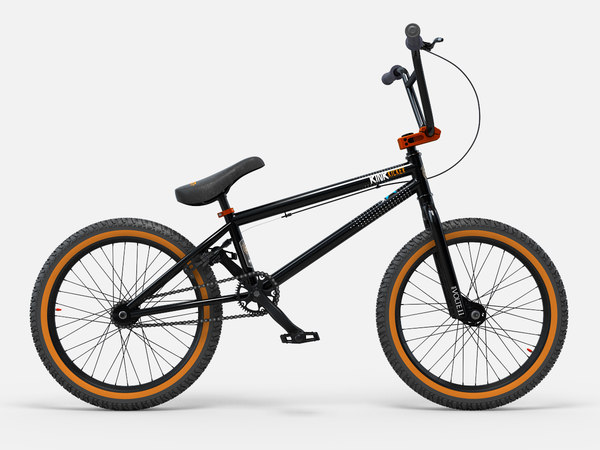 Kink Kicker BMX Bike 2014 3D Models