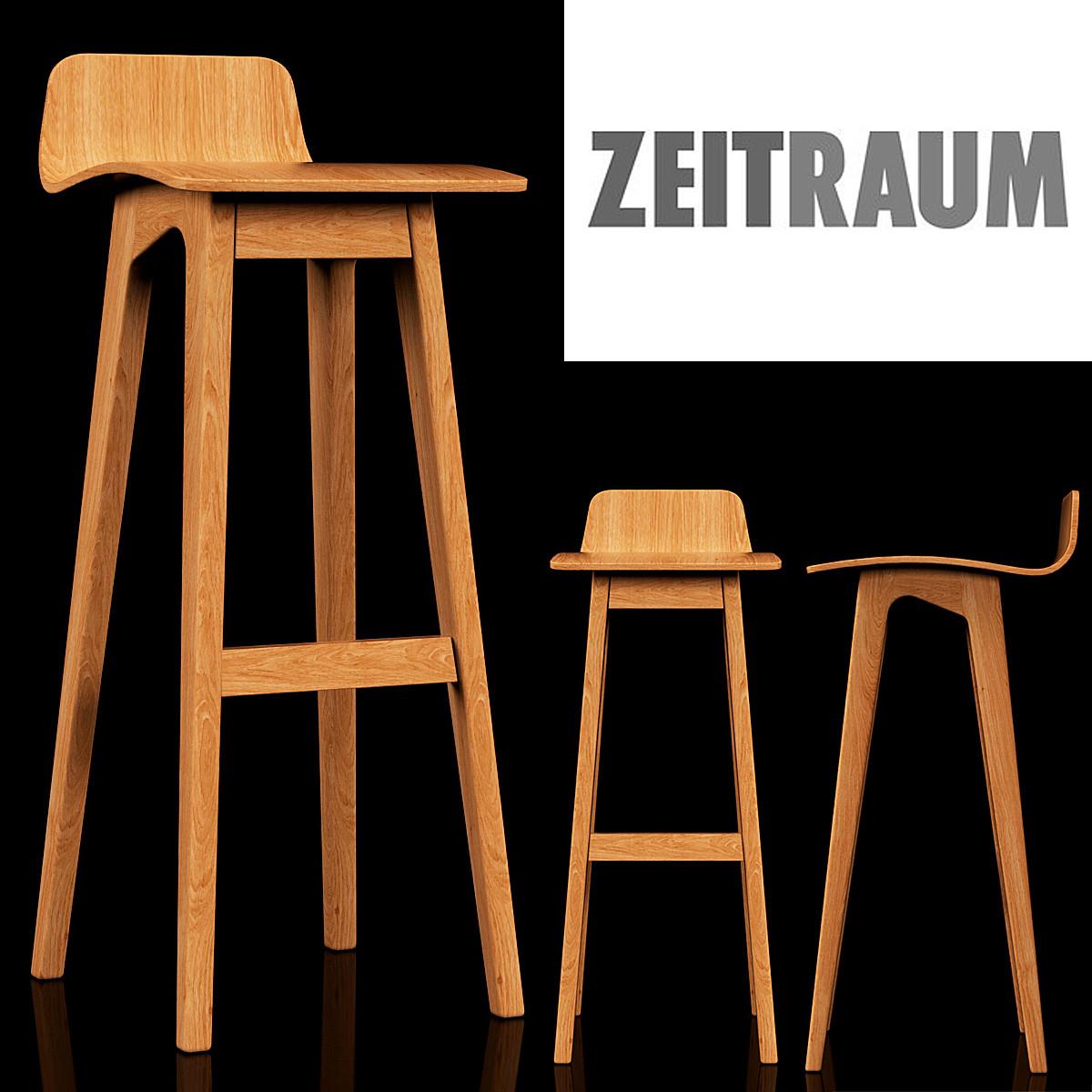 3d model zeitraum morph bar for Barhocker 3ds