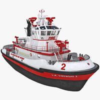 fireboat 3D models