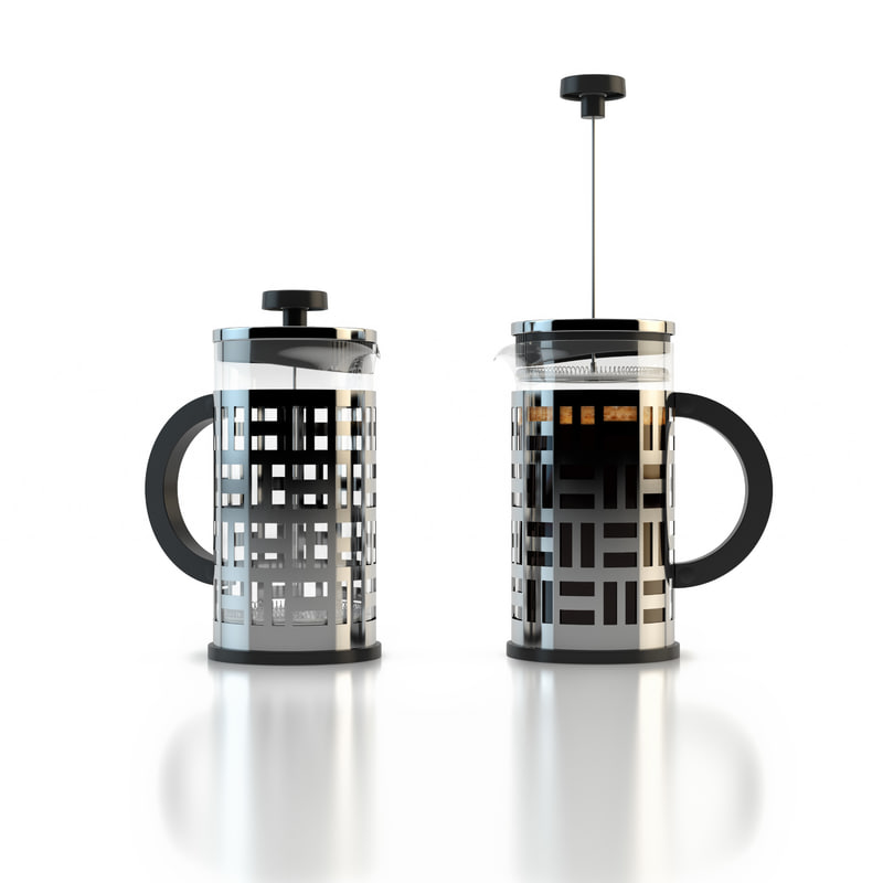 Bodum Coffee Maker 3d Model