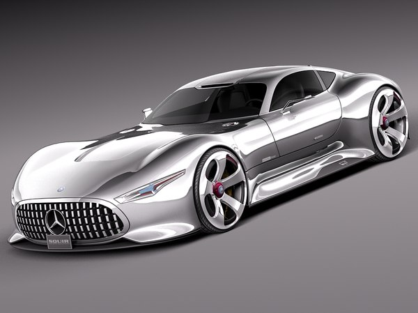 Mercedes-Benz Vision Gran Turismo Concept 3D Models