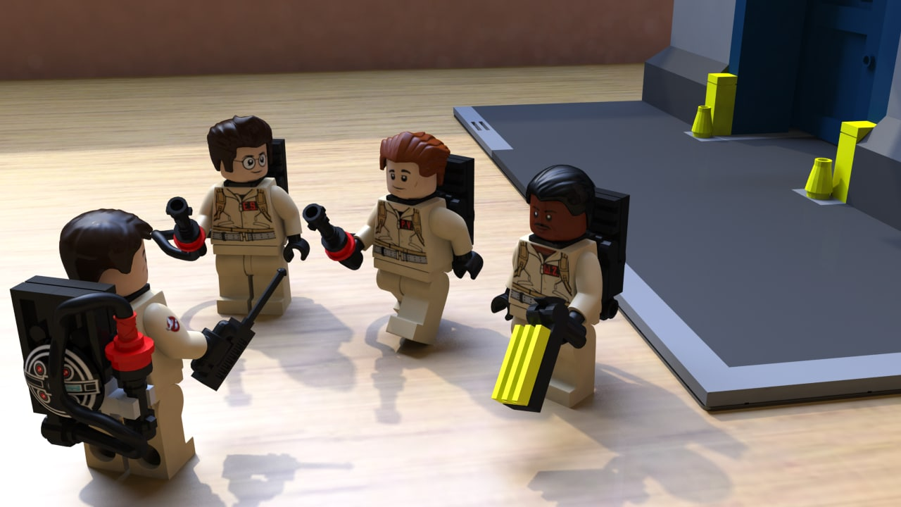 Ghostbusters Lego Minifigs Complete Set
