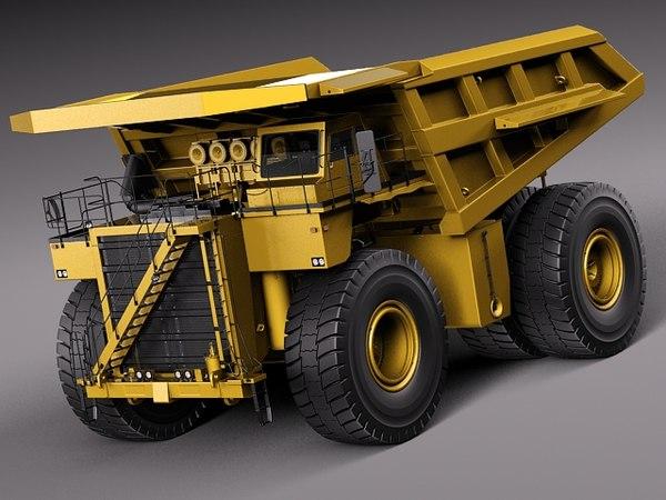 Haul Truck 3D Models