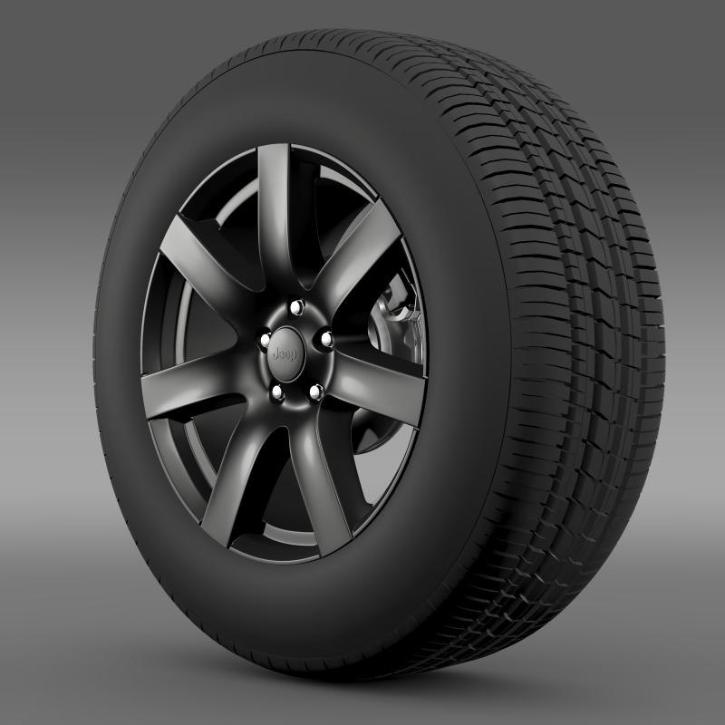 Jeep Wrangler Anlimited Altitude 2014 wheel