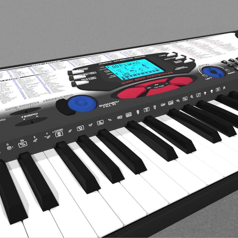 Keyboard / Synthesizer: Casio CTK-558