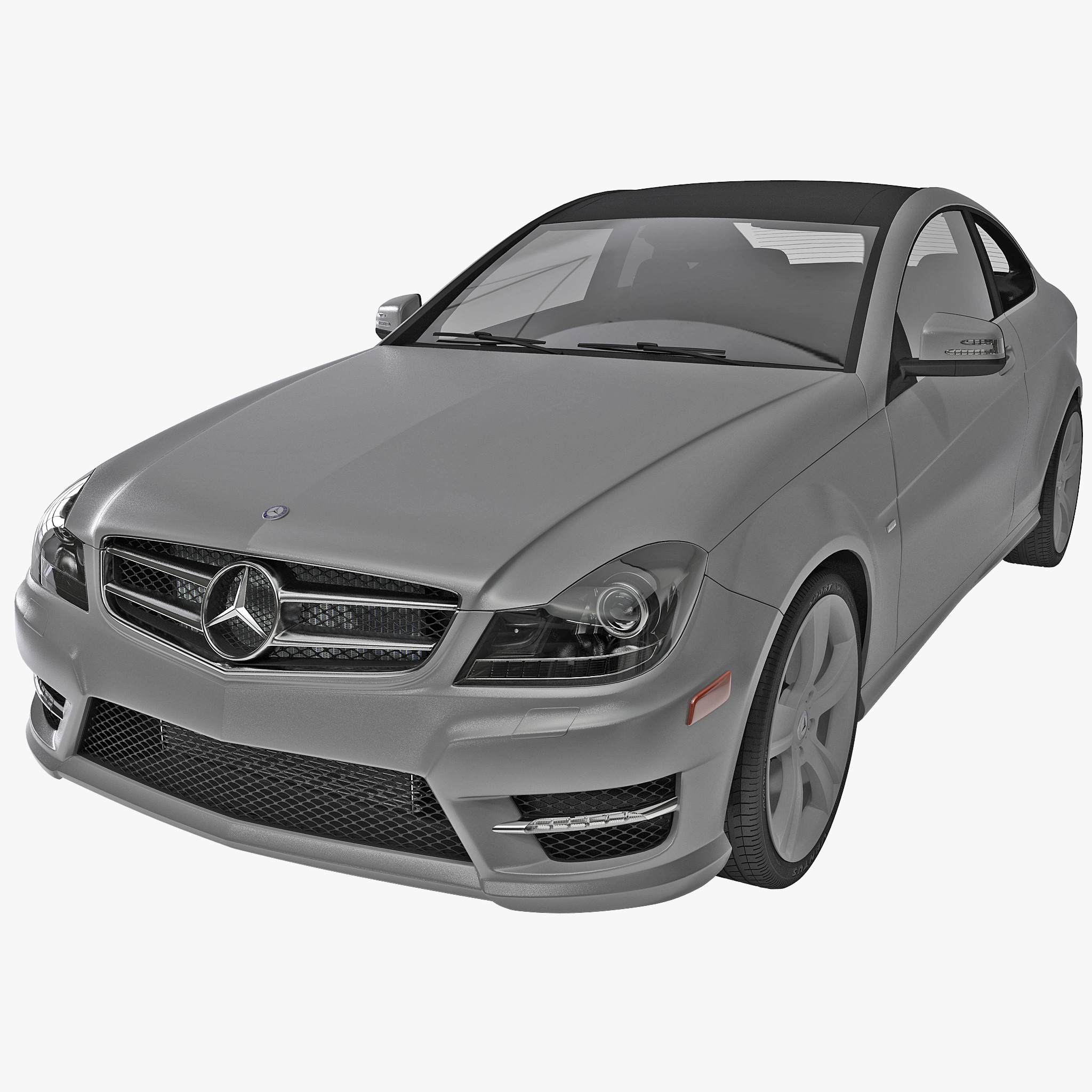 3d model mercedes benz c class for Mercedes benz c class models