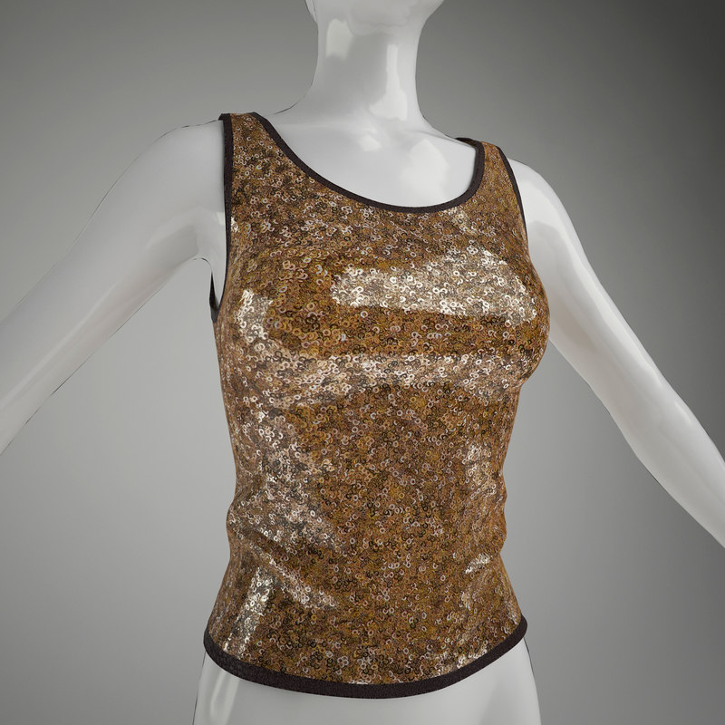 woman's vest (mannequin not included)