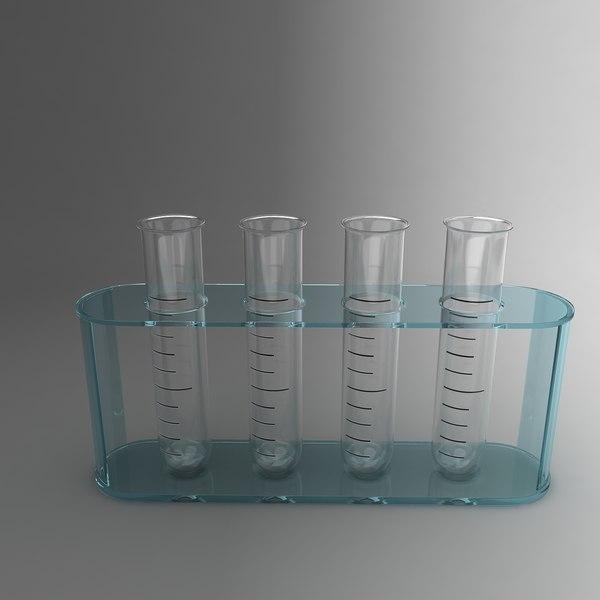 Test Tubes 3D Models