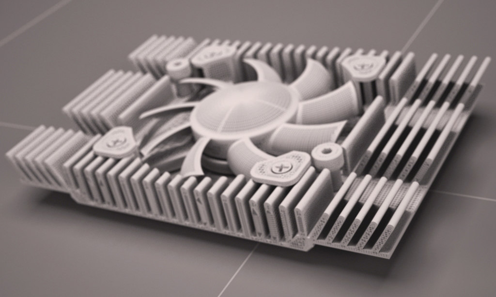 GRAPHICS CARD INTEGRATE COOLING FAN AND HEATSINK 2013 RAW EDITION