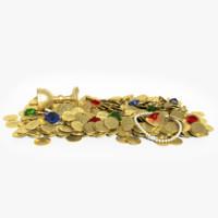 treasure 3D models