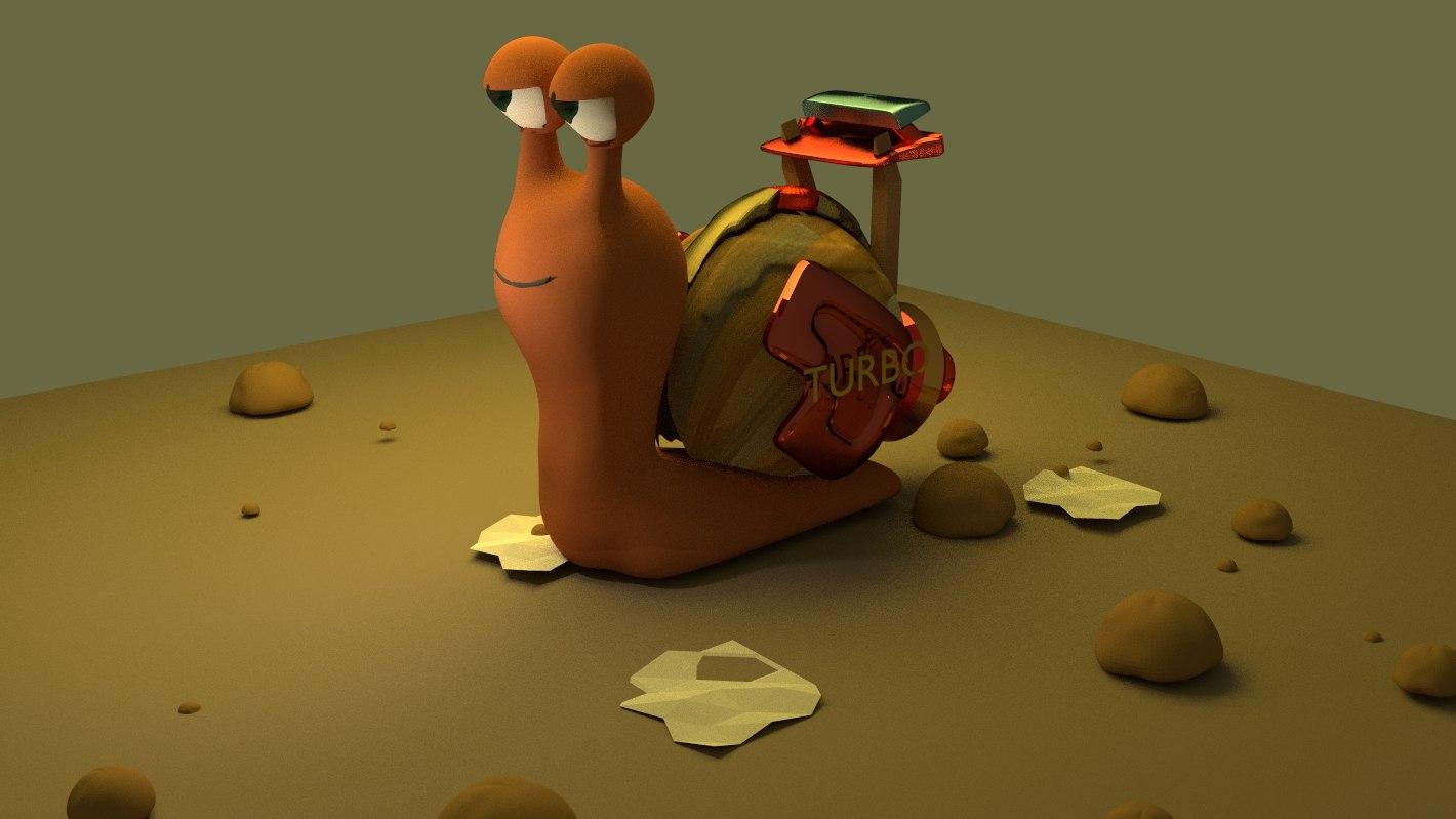 turbo snail