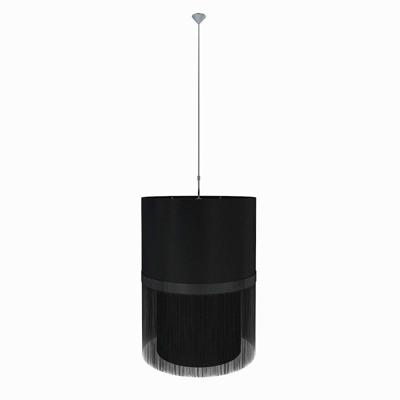 Moooi Lamp Fringe D500