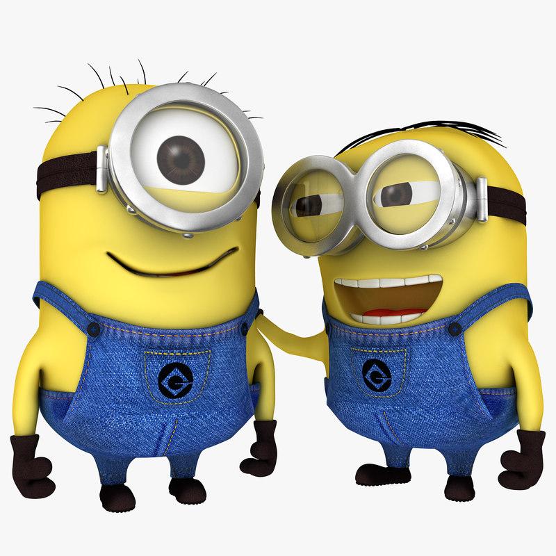 Minion Stuart & Dave