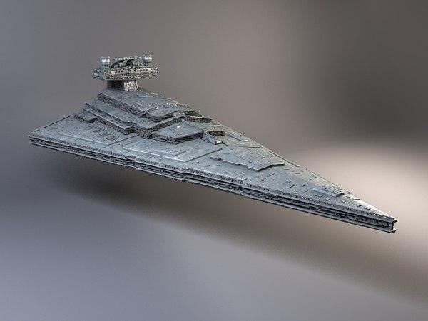 StarWars Star Destroyer 3D Models