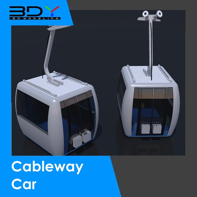 Cable way Car | 3DY