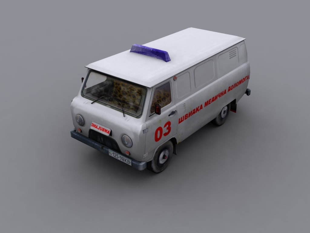 UAZ 452 ambulance