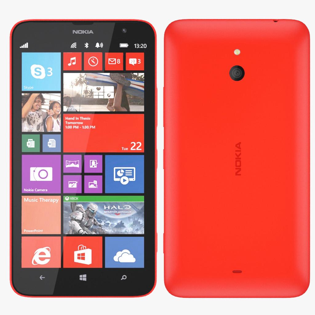 Nokia Lumia 1320 - Red...