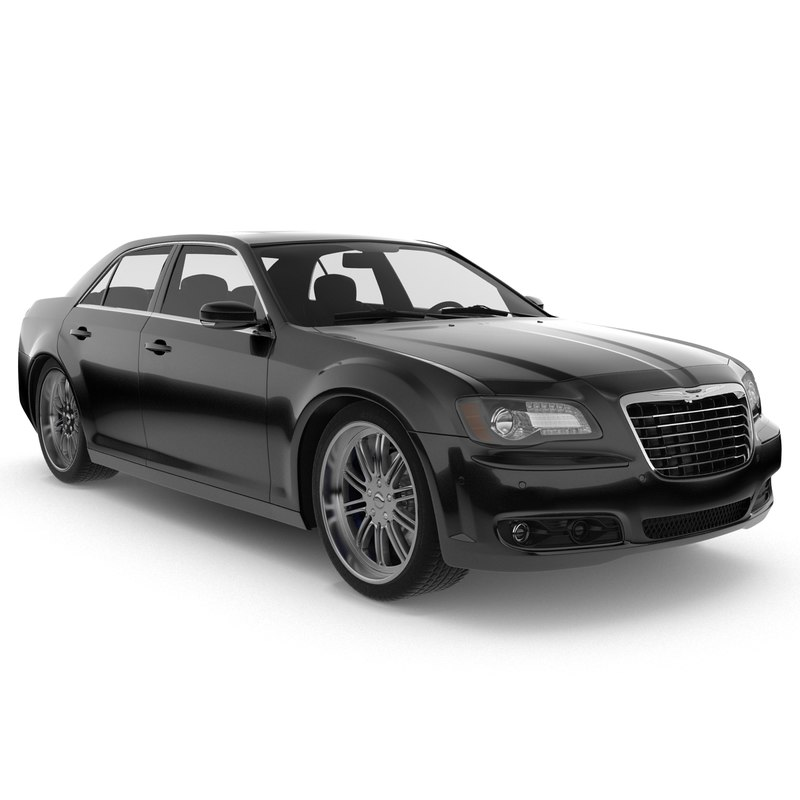 3d Chrysler 300 S Car Model