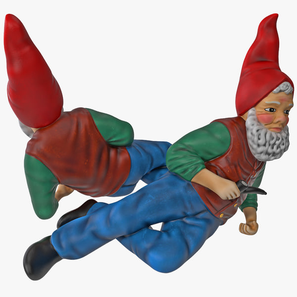 Lawn Gnome Skinny 3D Models