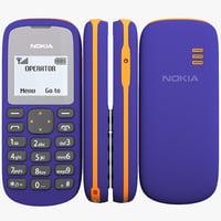 Nokia 103 3D models