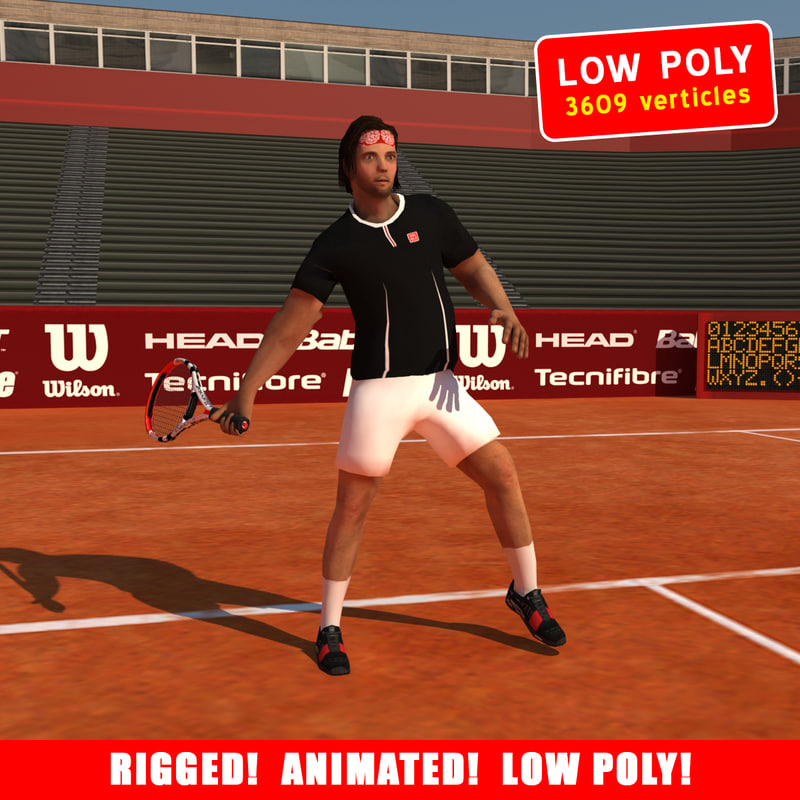Tennis Player V1