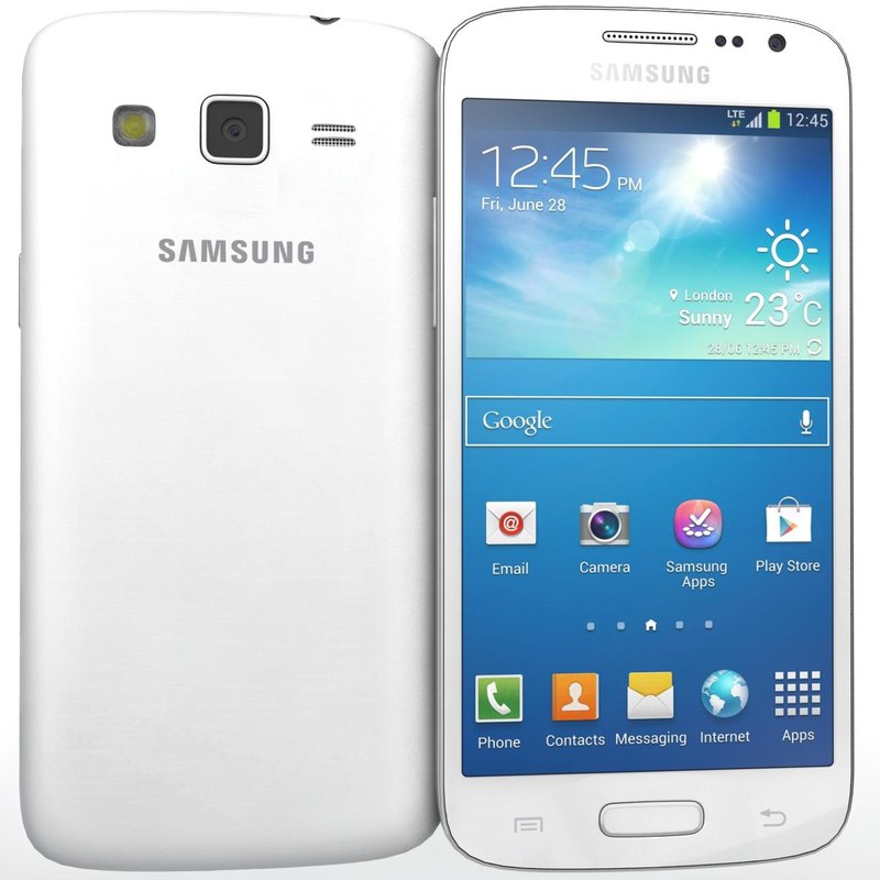 Samsung G3812B Galaxy S3 Slim White