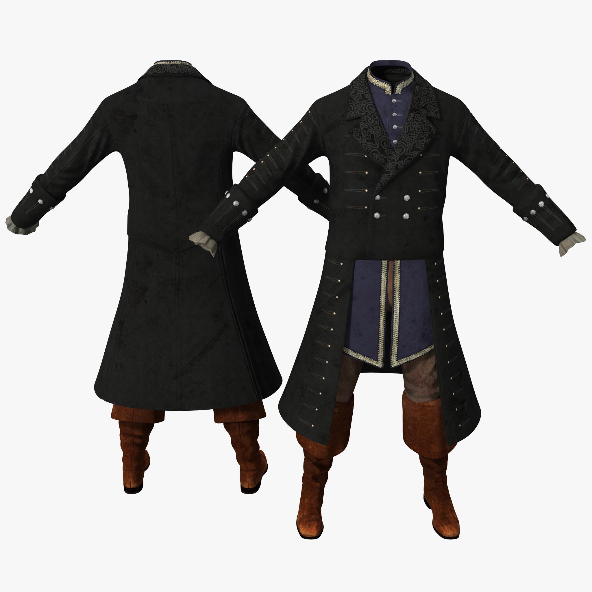 18th Century Mens Costume