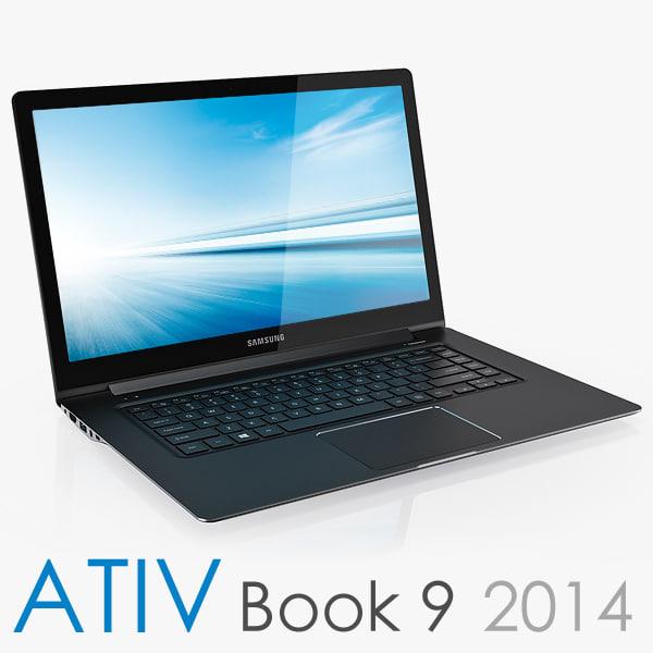 Samsung ATIV Book 9 2014 Edition 3D Models