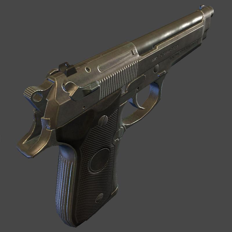 M9 Beretta Game Ready