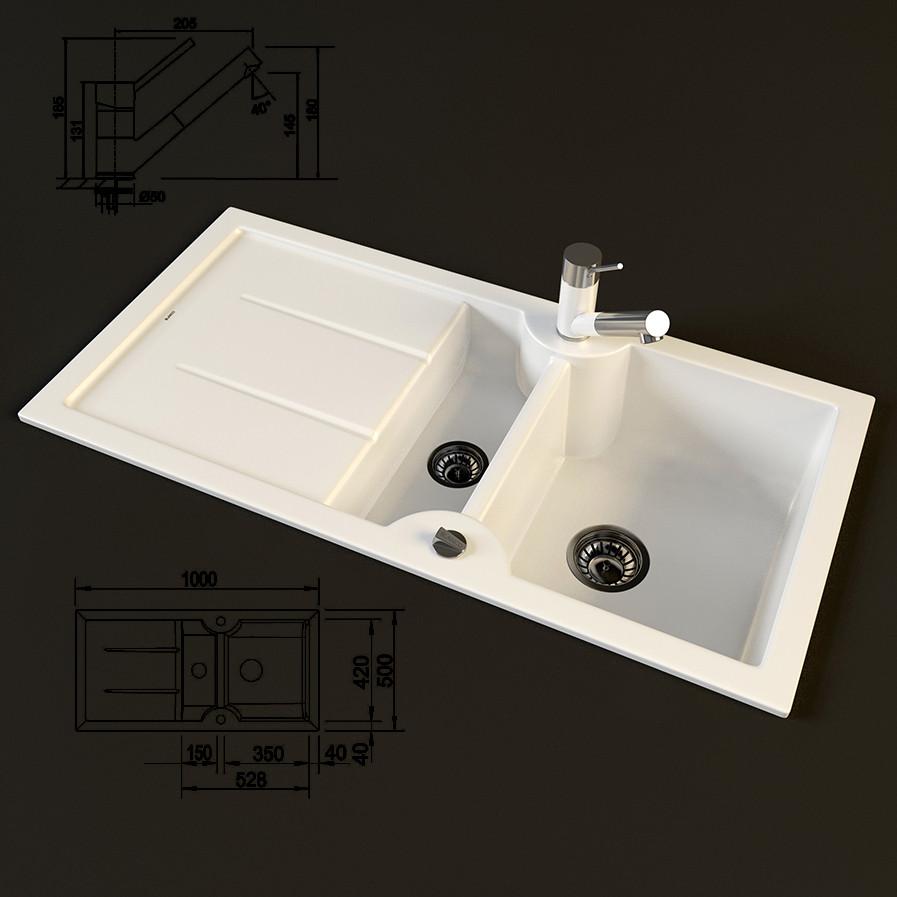 blanco idessa antas 3d model