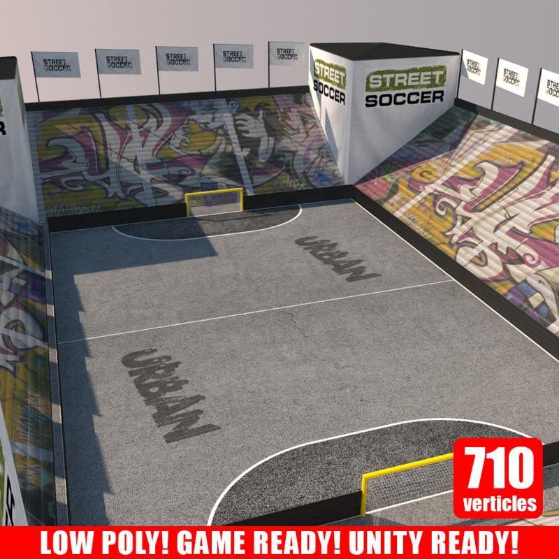 Street Soccer Court 1