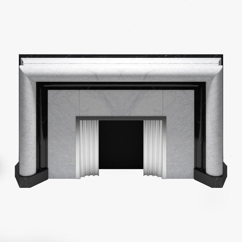 Fireplace ArtDeco