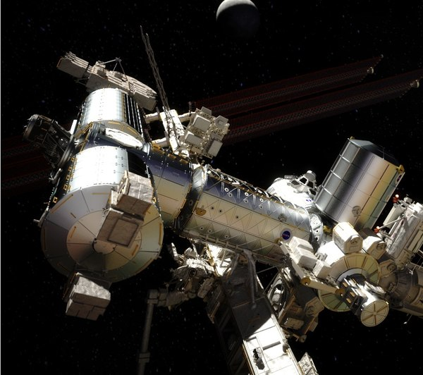 International Space Station (High Poly) 3D Models