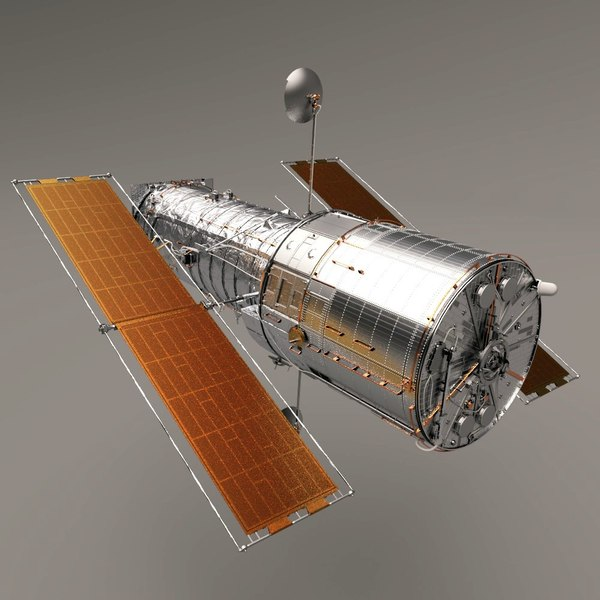 Hubble Space Telescope (High Poly) 3D Models
