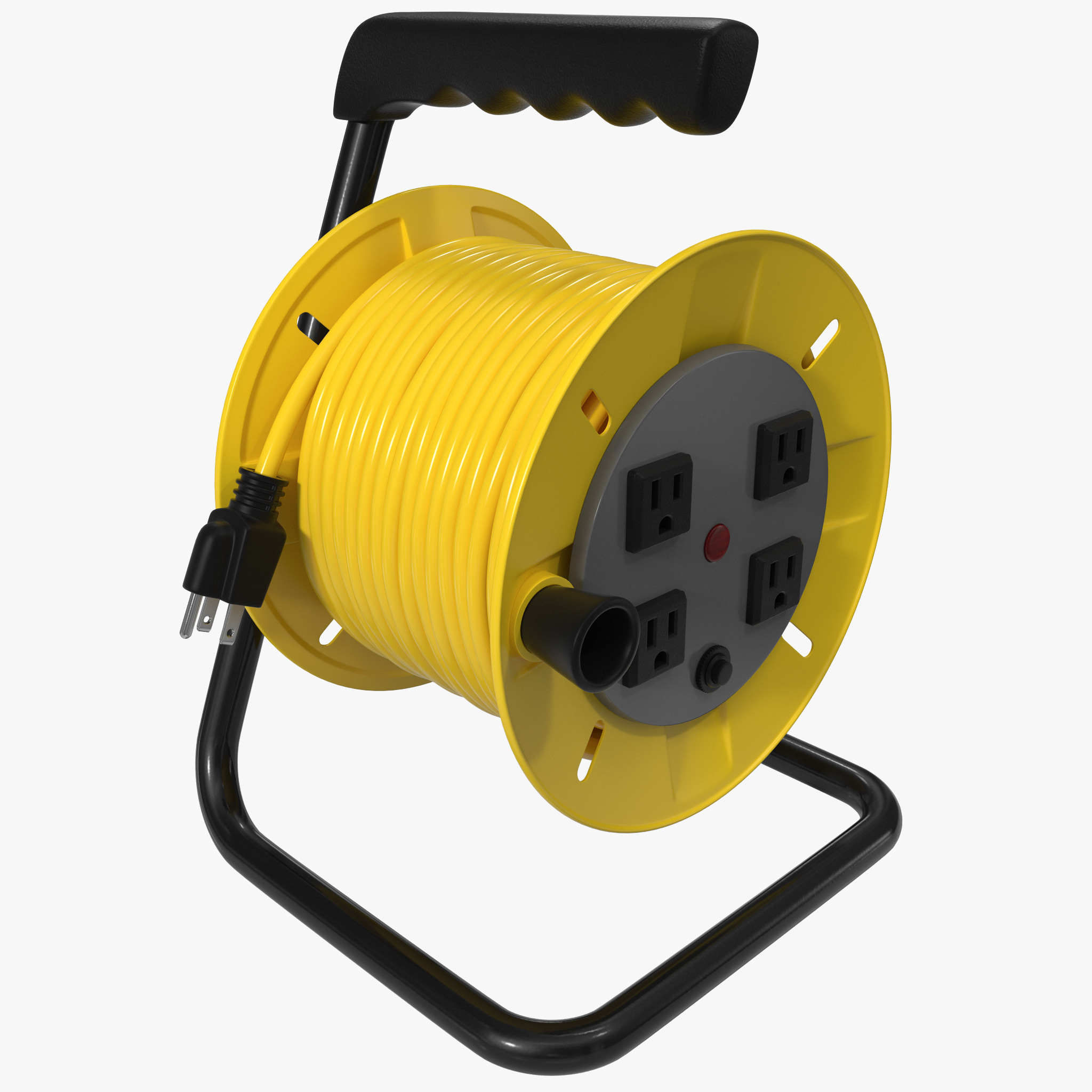 how to make an extension cord reel