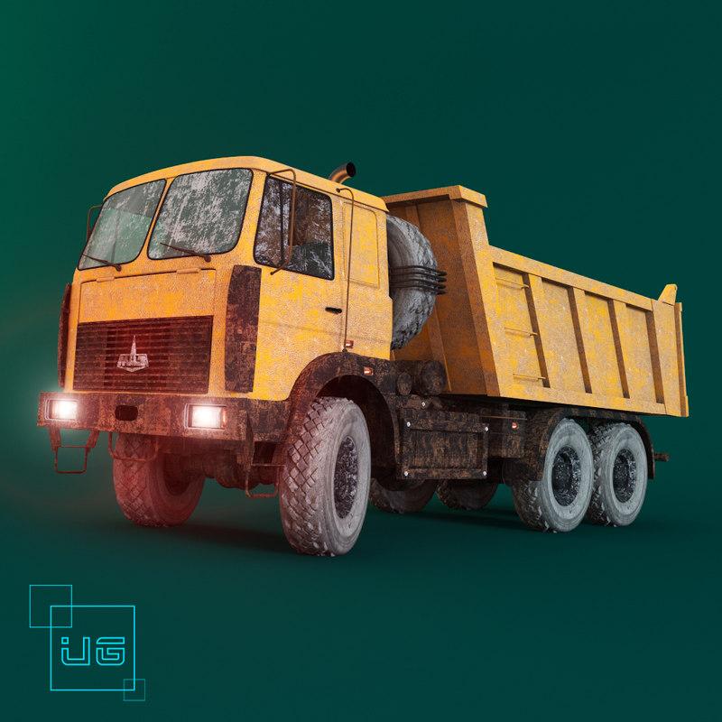 tipper truck  MAZ