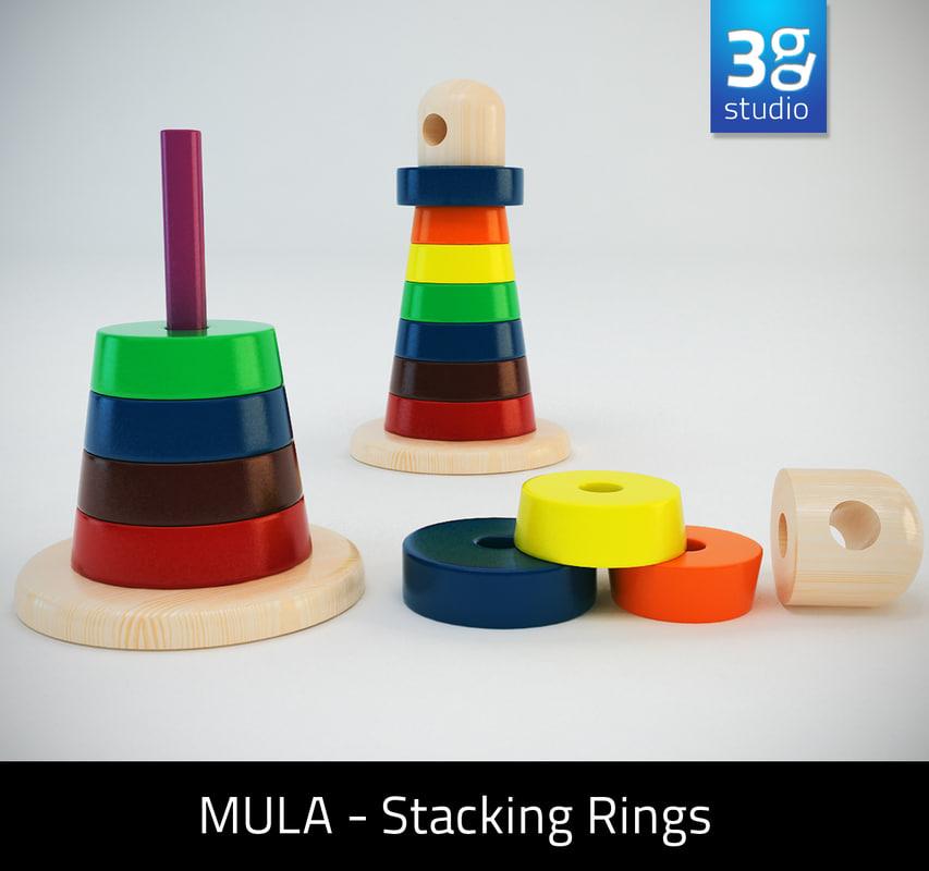 D Stacking Ring Model