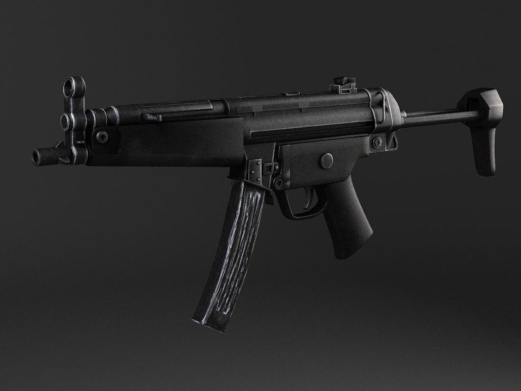 MP5A5 submachine gun
