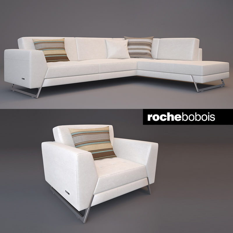 Roche bobois satelis canape 3d max for Canape holders