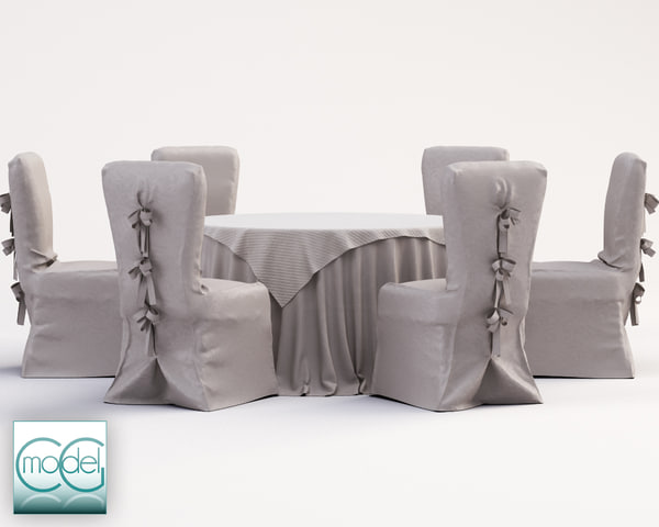 chair covered 02 3D Models