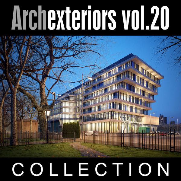 Archexteriors vol. 20 3D Models