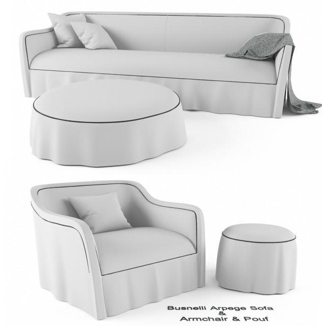 Busnelli Arpege Sofa Armchair