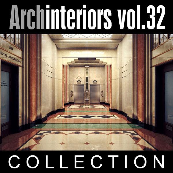 Archinteriors vol. 32 3D Models