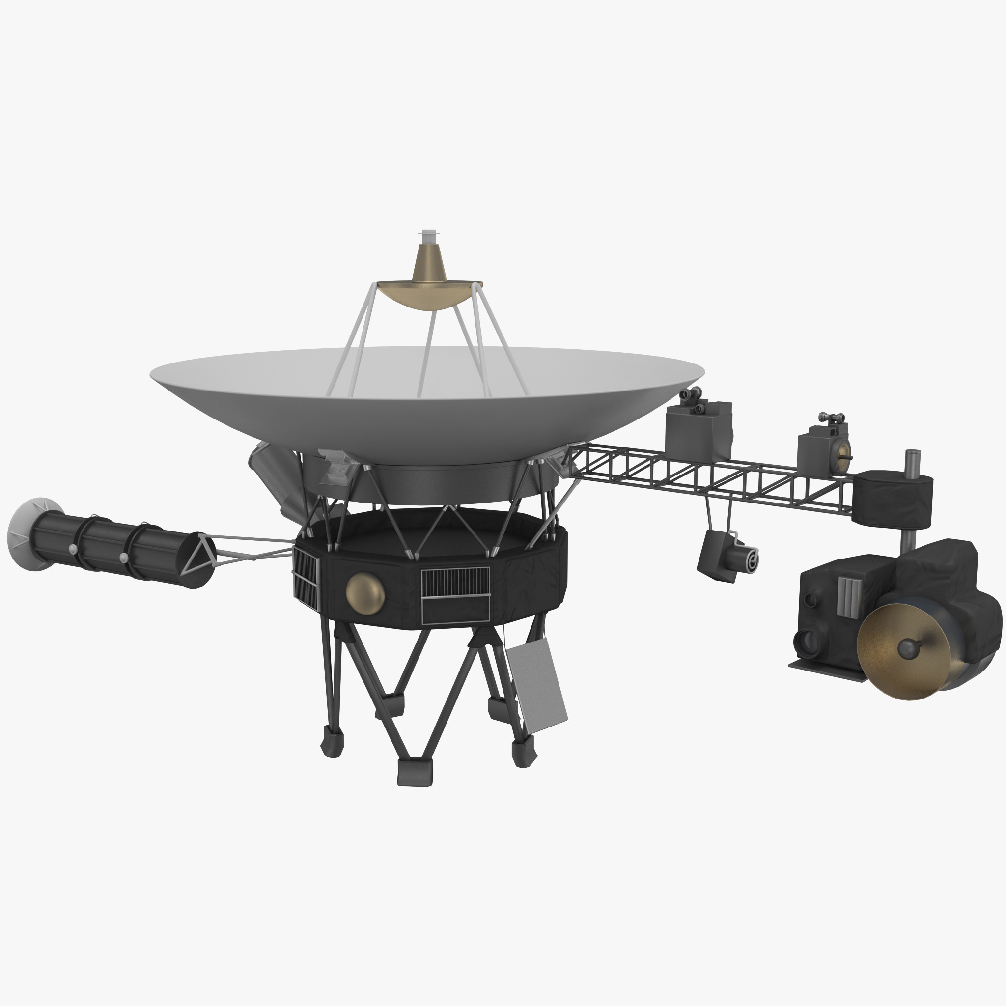 Voyager 1 Space Probe Equipment - Pics about space