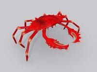 Strawberry Crab 3D models