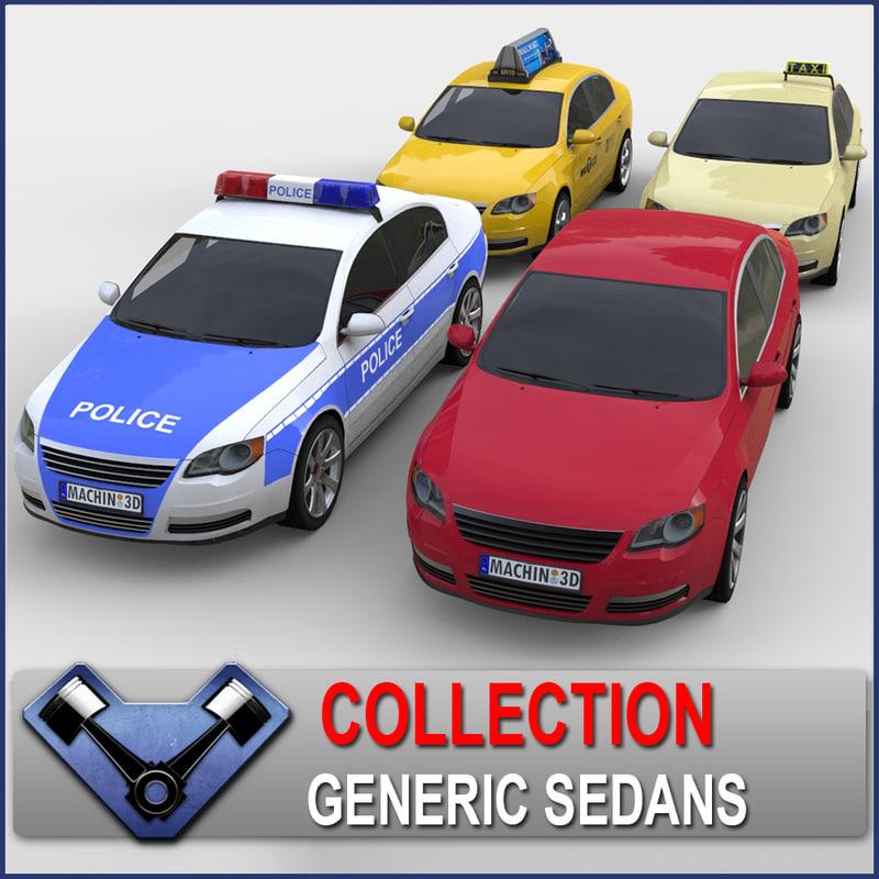Generic Sedan Monsun Collection
