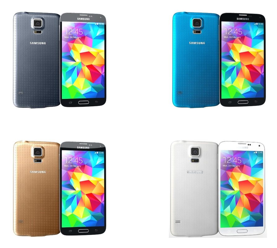 Samsung Galaxy S5 All Colors
