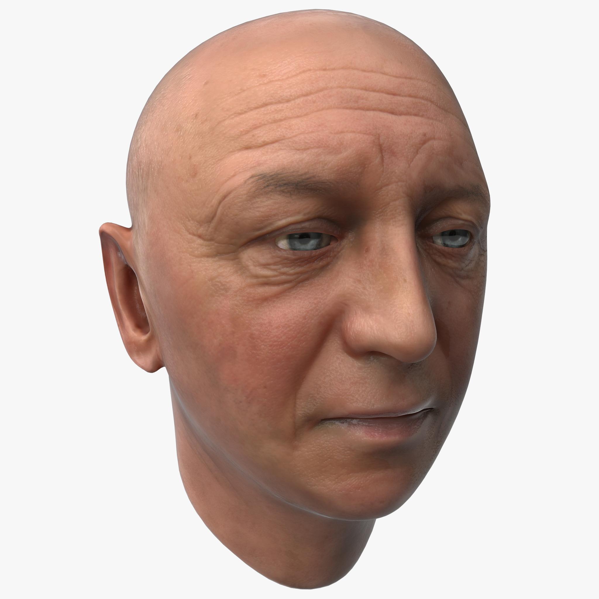 Male Head 12